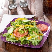 Fineline 1508-PRP Renaissance 7 1/2 inch Purple Square Salad Plate - 120/Case
