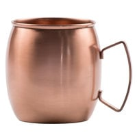 Clipper Mill by GET CPRMUG-01 21 oz. Moscow Mule Mug with Brushed Copper Finish