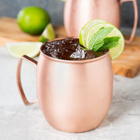 Clipper Mill by GET CPRMUG-01 14 oz. Brushed Copper Moscow Mule Mug