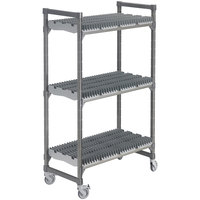 Cambro Camshelving Elements EMU244878DRPKG580 Drying Rack Cart - 24 inch x 48 inch x 78 inch
