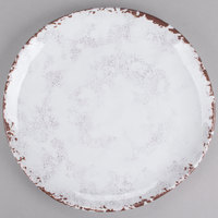 GET CS-10-FM French Mill 10 1/2 inch Irregular Round Coupe Plate - 12/Case