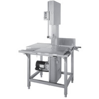 Hobart 6801-18 142 inch Vertical Meat Saw - 3 hp, 200/230/60/3V