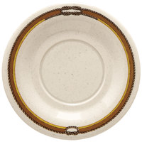 GET SU-3-RD 5 1/2 inch Diamond Rodeo Saucer for B-105, BC-70, BC-170, B-454, and C-107 - 48/Case
