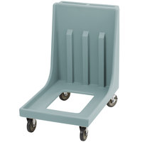 Cambro Camdolly CD1826MTC401 Slate Blue Dolly for 1826MTC Camcarrier Tray / Sheet Pan Carrier