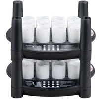Sterno Products 60234 24 Piece Warm White Rechargeable Flameless Votive Set with 2 EasyStack Charging Bases and 1 Power Adapter
