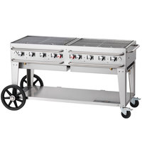 Crown Verity RCB-72-LP 72 inch Pro Series Portable Outdoor Rental Grill