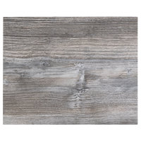 BFM Seating DW2430 Midtown 24 inch x 30 inch Rectangular Indoor Tabletop - Driftwood