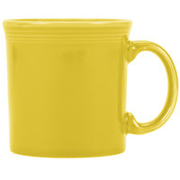 Homer Laughlin 570320 Fiesta Sunflower 12 oz. Java Mug - 12/Case