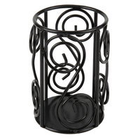 Sterno Products 85264 Black Swirl Wire Lamp Base