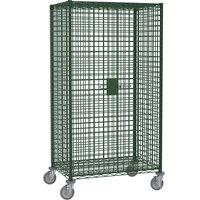 Metro SEC55DK3 Metroseal 3 Mobile Standard Duty Wire Security Cabinet 52 3/4 inch x 27 1/4 inch x 68 1/2 inch