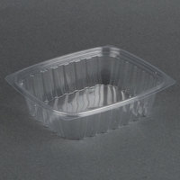 Dart Solo C24DER ClearPac 24 oz. Clear Rectangular Plastic Container - 504/Case