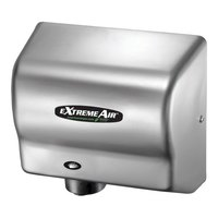 American Dryer EXT7-SS ExtremeAir Automatic Unheated Hand Dryer with Stainless Steel Cover - 100/240V, 540W