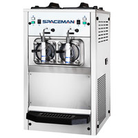 Spaceman 6695H 2 Bowl Slushy / Granita Stainless Steel Frozen Drink Machine - 208/230V