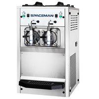 Spaceman 6695H 2 Bowl Slushy / Granita Stainless Steel Frozen Drink Machine - 208/230V