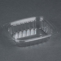 Dart Solo C8DER ClearPac 8 oz. Clear Rectangular Plastic Container - 1008/Case