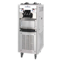 Spaceman 6368 Soft Serve Ice Cream Machine with 2 Hoppers - 208/230V