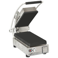 Star PST7I Pro-Max 2.0 Single 9 1/2 inch Panini Grill with Smooth Cast Iron Plates - Dial Controls