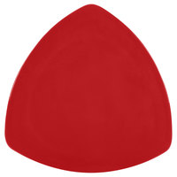 GET TP-12-RSP Red Sensation 12 inch Triangular Melamine Plate - 12/Case