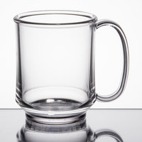 GET SN-104-CL Healthcare 8 oz. Clear Tritan Mug - 24/Case