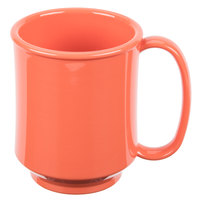 GET SN-104-RO Healthcare 8 oz. Rio Orange Tritan Mug - 24/Case