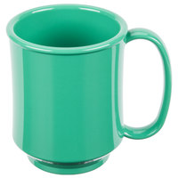 GET SN-104-FG Healthcare 8 oz. Rainforest Green Tritan Mug - 24/Case