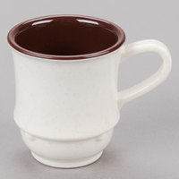 GET TM-1208-U Ultraware 8 oz. Ivory SAN Plastic Stacking Mug - 24/Case