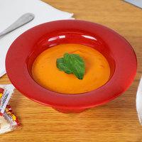 GET SN-108-RSP 10 oz. Red Sensation Melamine Wide Rim Bowl - 24/Case