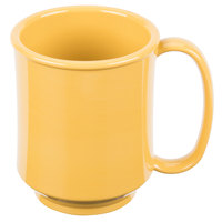 GET SN-104-TY Healthcare 8 oz. Tropical Yellow Tritan Mug - 24/Case