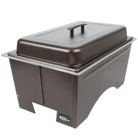 Sterno Products Full Size Copper Vein Fold Away Chafer with Lid and Full Size Pan