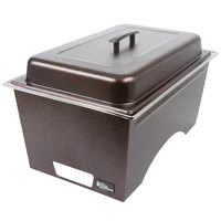 Sterno Products Full Size Copper Vein Stackable Chafer with Lid and Full Size Pan