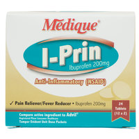Medique 10064 I-Prin Ibuprofen Tablets - 24/Box