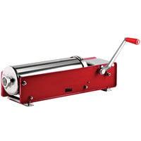 Manual 22 lb. Horizontal 2-Speed Enameled Steel Sausage Stuffer