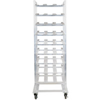 Regency CANRK162M Full Size Mobile Aluminum Can Rack for #10 and #5 Cans