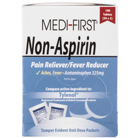 Medi-First 80333 Non-Aspirin Acetaminophen Tablets - 100/Box