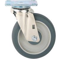 Metro C8DA 8 inch Super Erecta Hi Modulus Donut Rubber Swivel Plate Caster