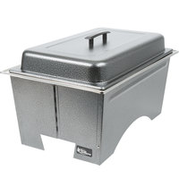 Sterno Products Full Size Silver Vein Fold Away Chafer with Lid and Full Size Pan