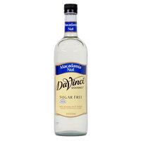 DaVinci Gourmet 750 mL Sugar Free Macadamia Nut Flavoring Syrup