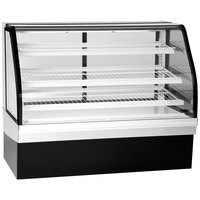 Federal Industries ECGR-59 Elements 59 inch Curved Glass Refrigerated Bakery Display Case - 22.07 Cu. Ft.