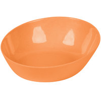 GET SZIP003O BambooServe 20 oz. Round Bamboo Orange Incline Bowl - 12/Case