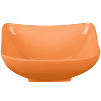 GET SZSB001O BambooServe 1.5 Qt. Square Bamboo Orange Salad Bowl - 12/Case
