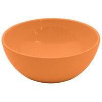 GET SZSB009O BambooServe 20 oz. Round Bamboo Orange Salad Bowl - 24 / Case