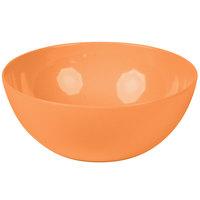 GET SZSB011O BambooServe 3.3 Qt. Round Bamboo Orange Salad Bowl - 6/Case