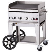 Crown Verity MG-30 Natural Gas 28 inch Portable Outdoor Griddle