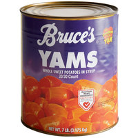 Bruce's Whole Sweet Potatoes in Heavy Syrup #10 Can