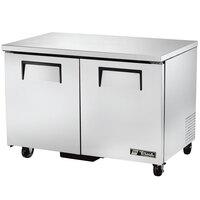 True TUC-48F-LP 48 inch Low Profile Undercounter Freezer