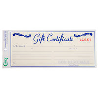 Choice Gift Certificate with Envelope - 25 / Pack