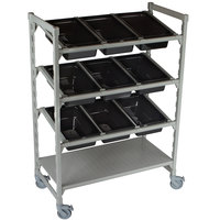 Cambro CPM244867FX1480 Camshelving® Premium 24 inch x 48 inch Flex Station Display Rack
