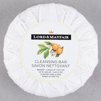 Lord &amp&#x3b; Mayfair 1.5 oz. Pleat Wrapped Apples &amp&#x3b; Wicker Cleansing Soap Bar - 288/Case