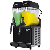 Curtis CFB2 Double 3 Gallon Pourover Slushy/Granita Frozen Beverage Dispenser