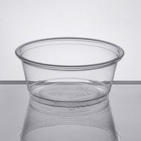 Choice 3.25 oz. Clear Plastic Souffle Cup / Portion Cup - 2500/Case